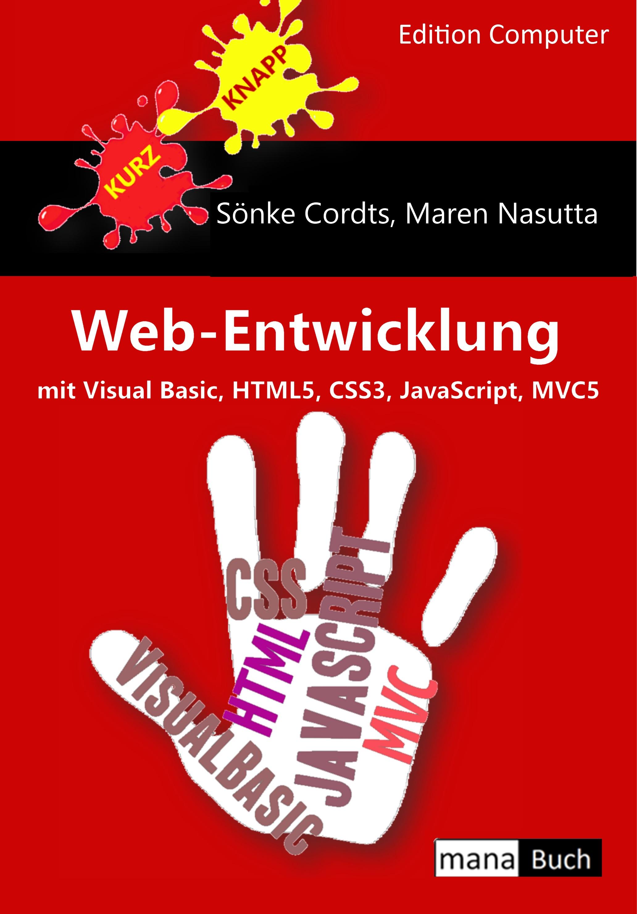 Web-Entwicklung mit Visual Basic, HTML5, CSS3, JavaScript und MVC5